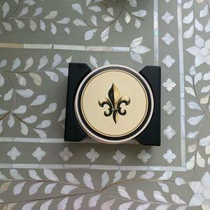 Other - 🎁 FREE GIFT 🎁 Fleur de Lys Coasters Set of 4